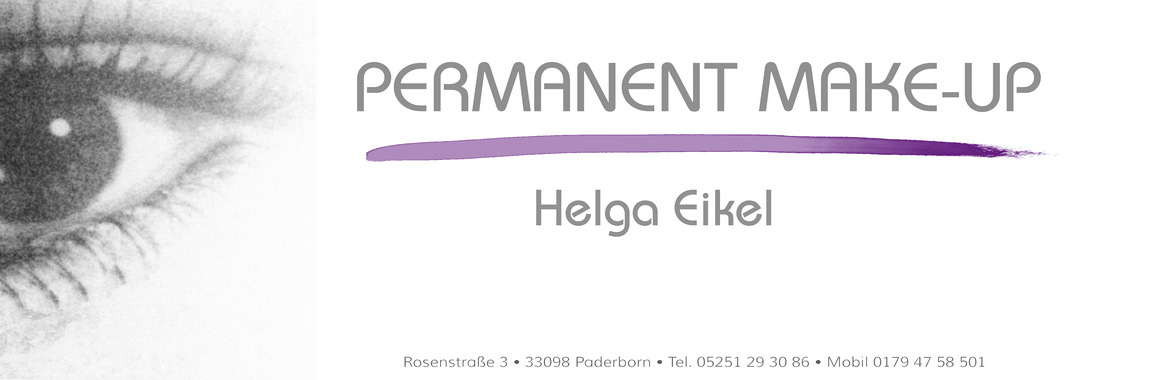 Logo – Permanent Make-Up – Helga Eikel
